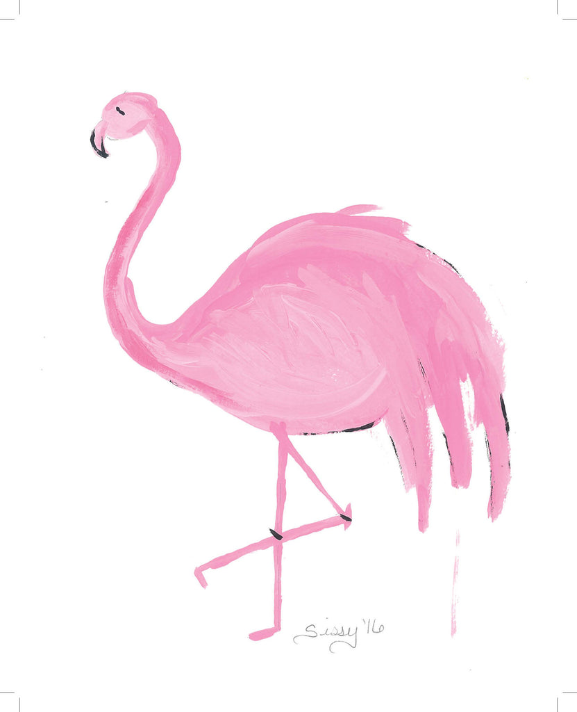 Frances The Flamingo | Christenberry Collection