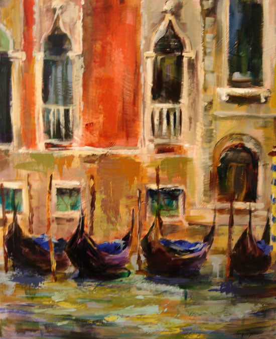 Essence of Venice painting Amy Dixon - Christenberry Collection