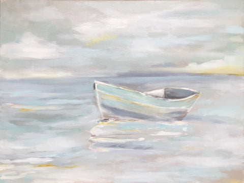 Afloat painting Kristin Cooney - Christenberry Collection