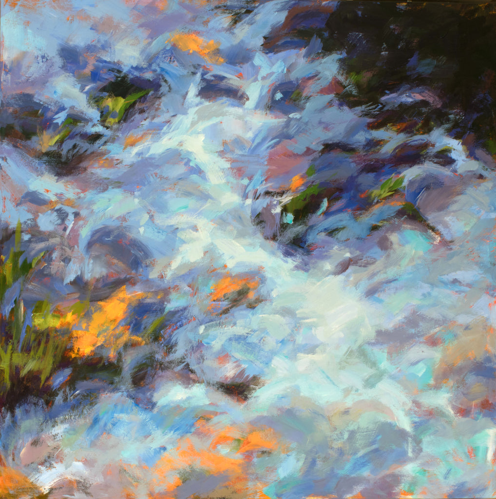 Runoff painting Kelly Berger - Christenberry Collection