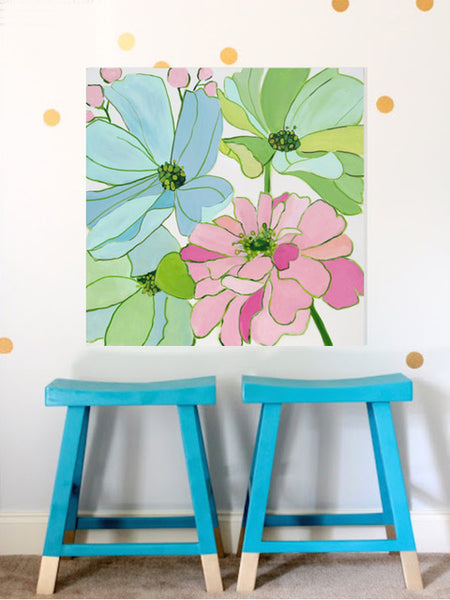 Blooms painting Kristin Cooney - Christenberry Collection