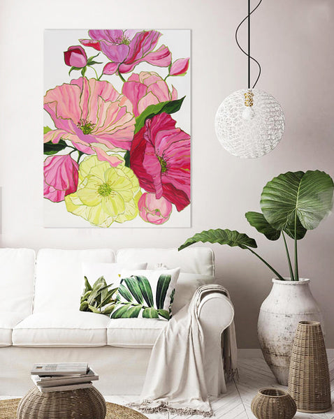 Blooms of Eden painting Kristin Cooney - Christenberry Collection