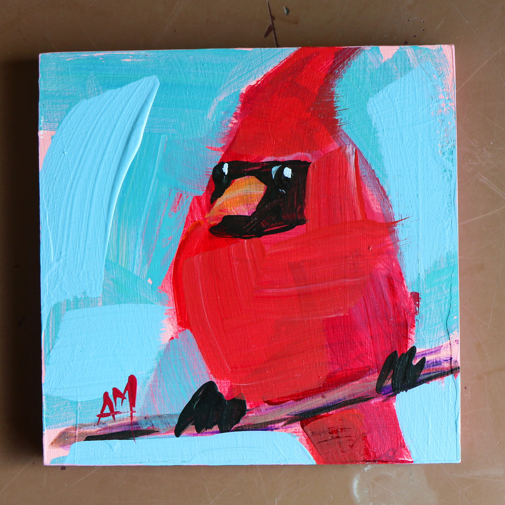 Christenberry Collection | Angela Moulton | Original Art | Bird Art | Painting