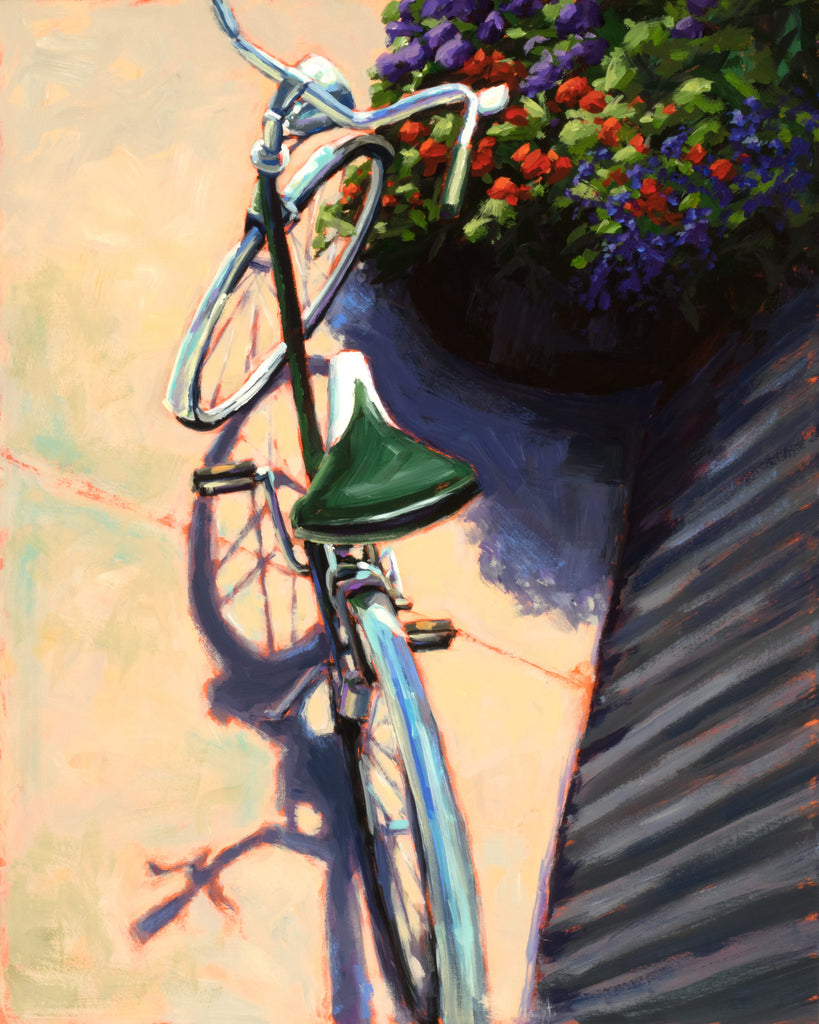 Cruise Above It All Giclee painting Kelly Berger - Christenberry Collection