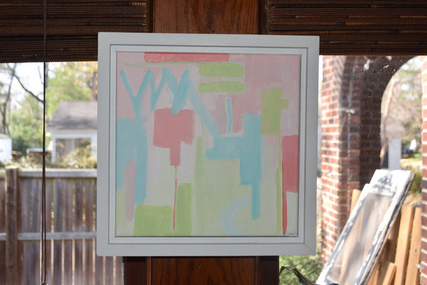 Abstract 2 painting Jane Marie Edwards - Christenberry Collection