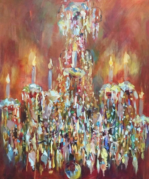 All That Glitters painting Amy Dixon - Christenberry Collection