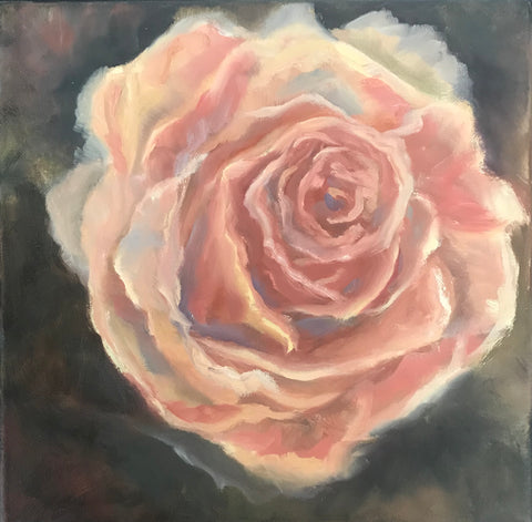 The Rose painting Cynthia Huston - Christenberry Collection