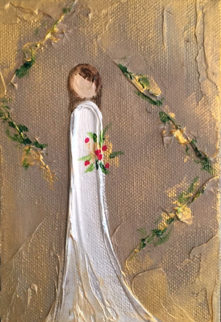 Debutante painting Lori Mitchell - Christenberry Collection