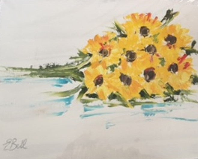Sunshine Bunch painting Emma Bell - Christenberry Collection
