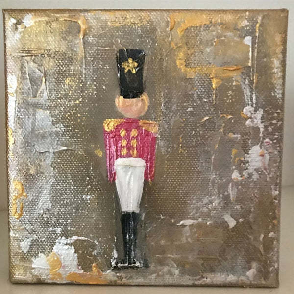 Toy Soldier painting Lori Mitchell - Christenberry Collection