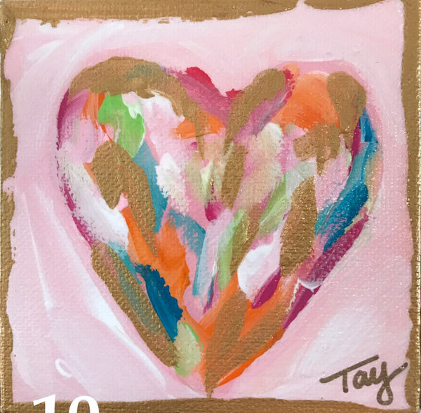 Hearts of Gold 10 | Christenberry Collection