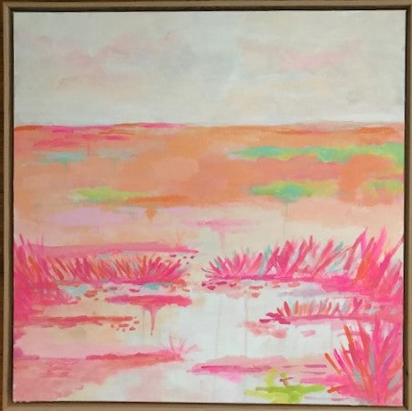 Summer Series III painting Jane Marie Edwards - Christenberry Collection