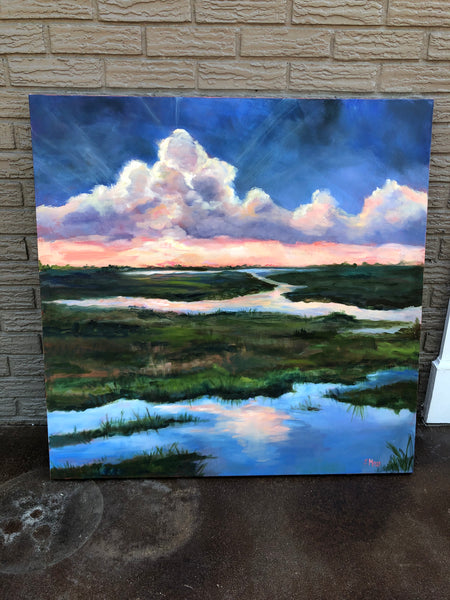 New Day Dawning painting Jenny Moss - Christenberry Collection