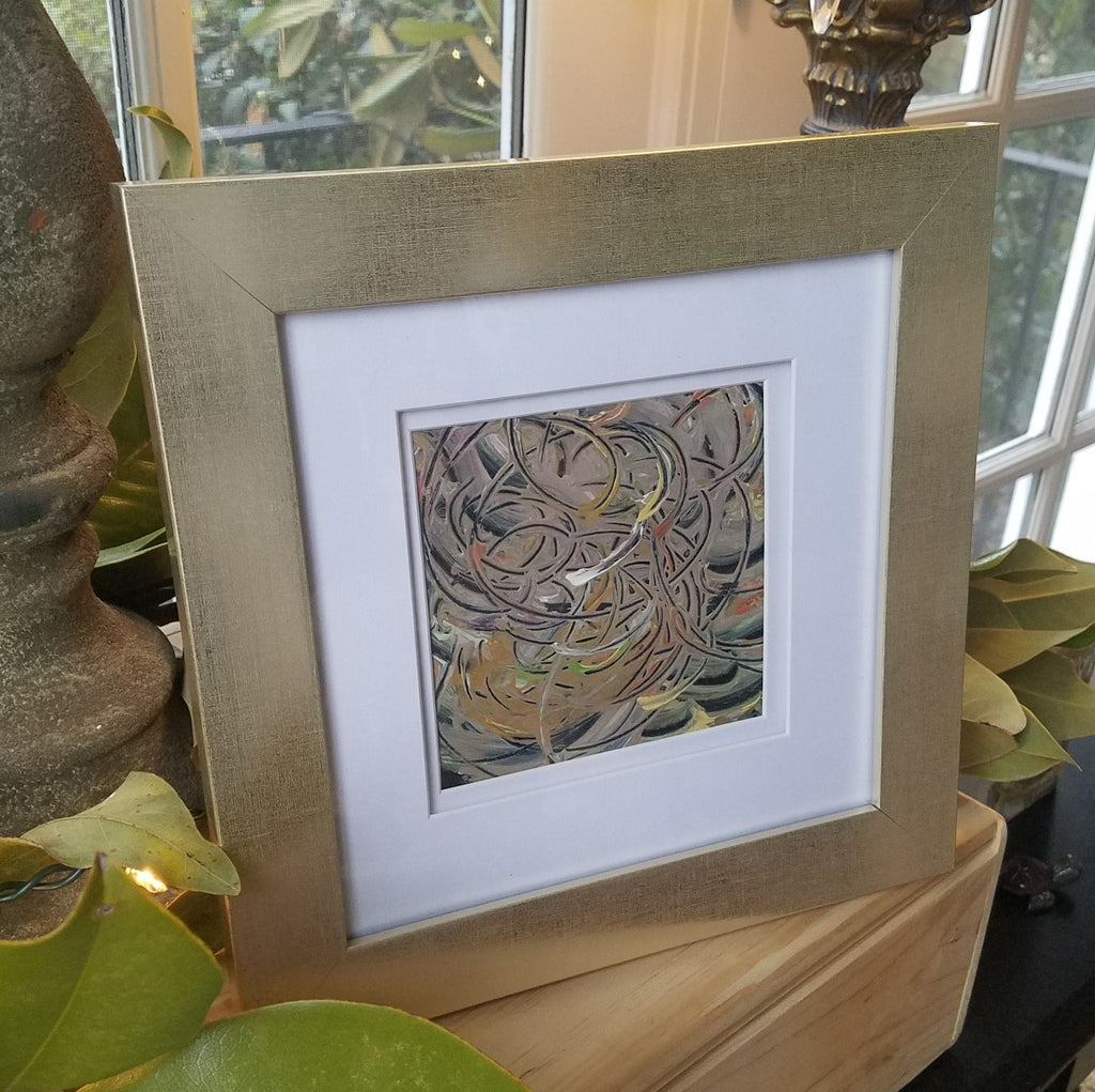 Kaleidoscope painting Amy Christenberry - Christenberry Collection