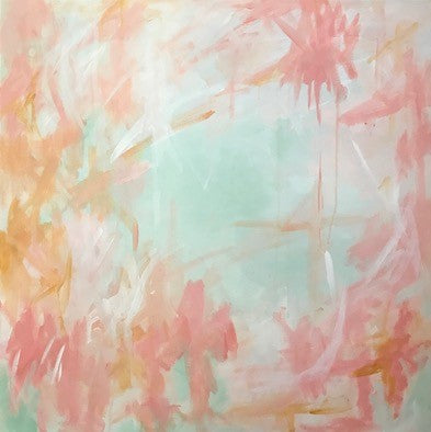 Just Peachy painting Jane Marie Edwards - Christenberry Collection