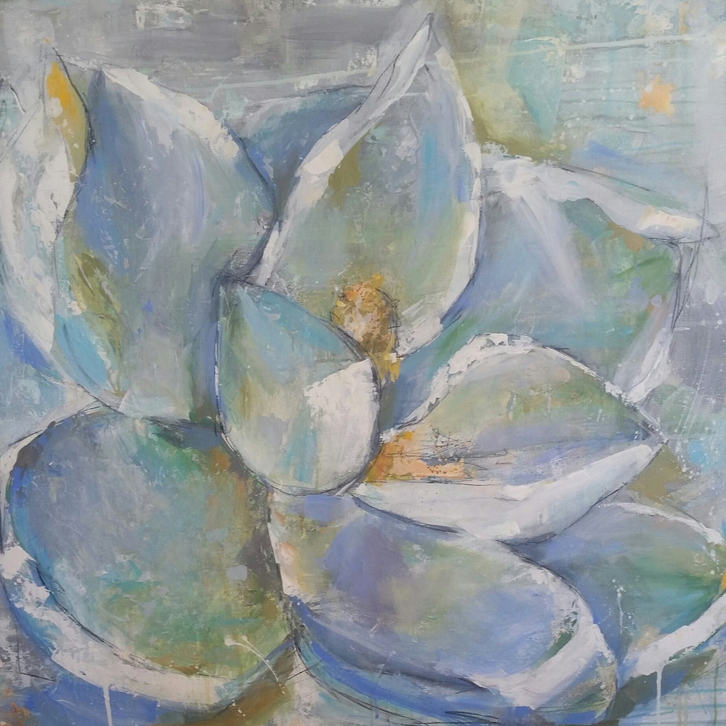 Floral - Magnolia painting Kym De Los Reyes - Christenberry Collection