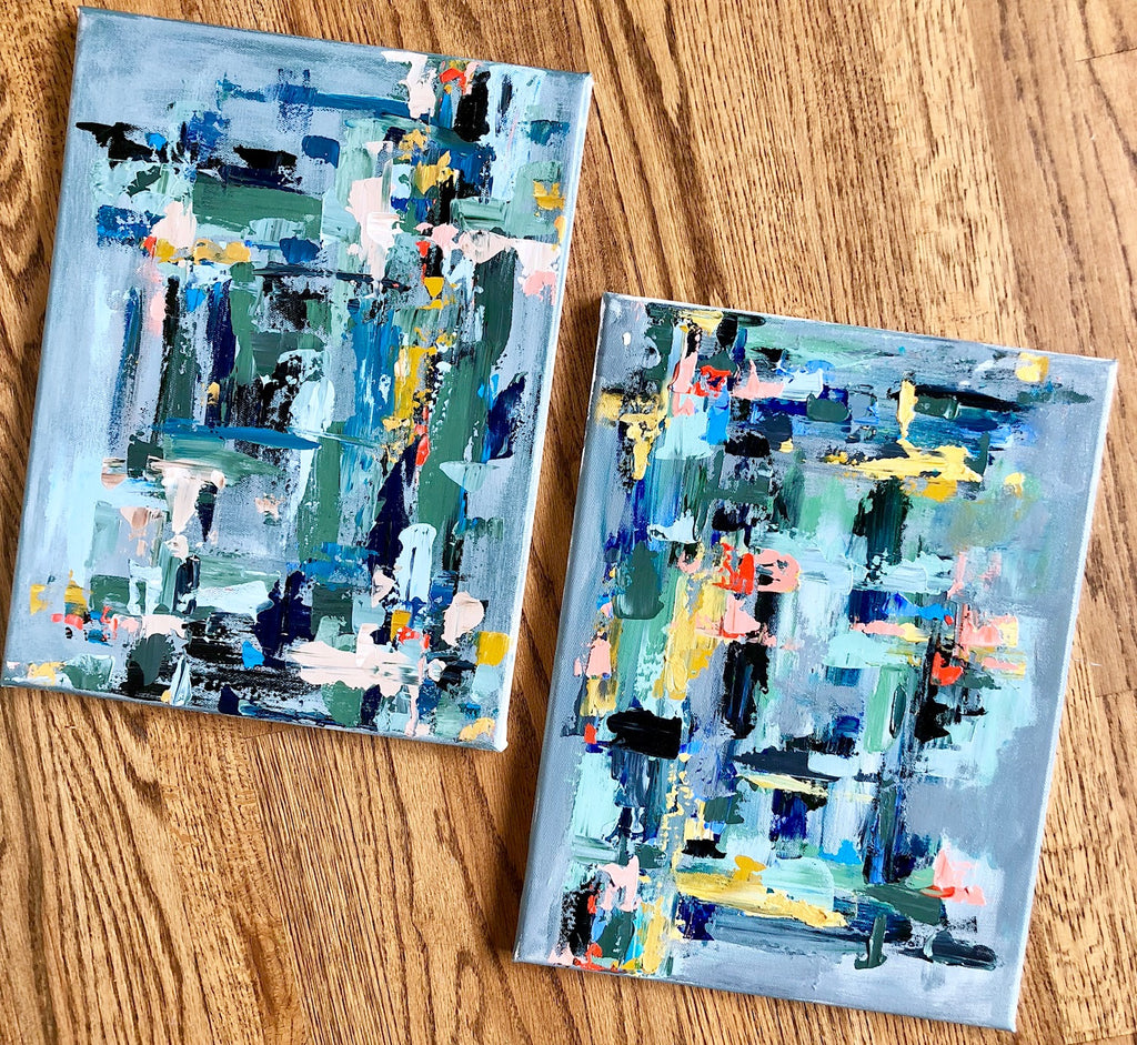 Diptych Abstract | Christenberry Collection