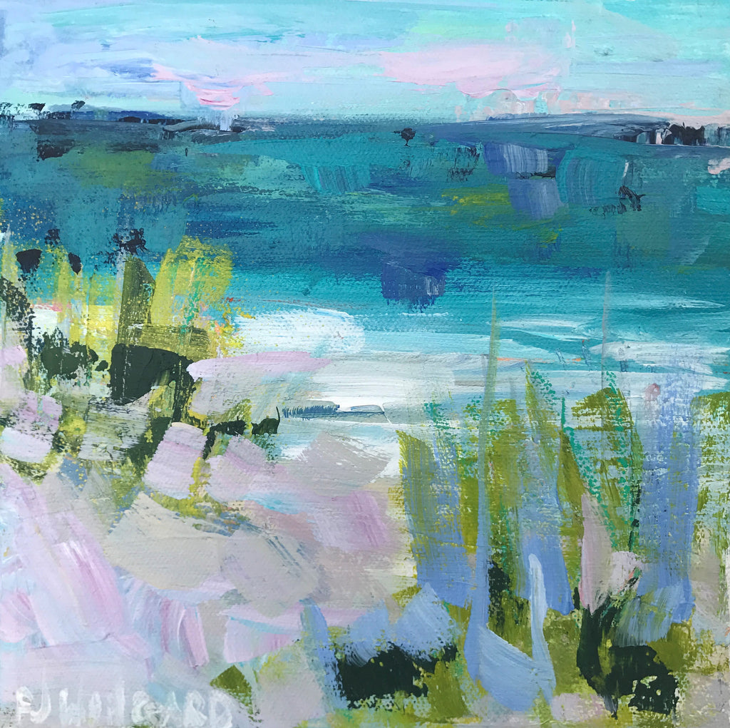 Somewhere by the Sea painting Pamela Wingard - Christenberry Collection