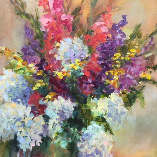 Voice of Spring painting Amy Dixon - Christenberry Collection