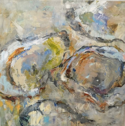 Oyster Stew painting Amy Dixon - Christenberry Collection
