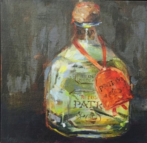 Patron painting Amy Dixon - Christenberry Collection