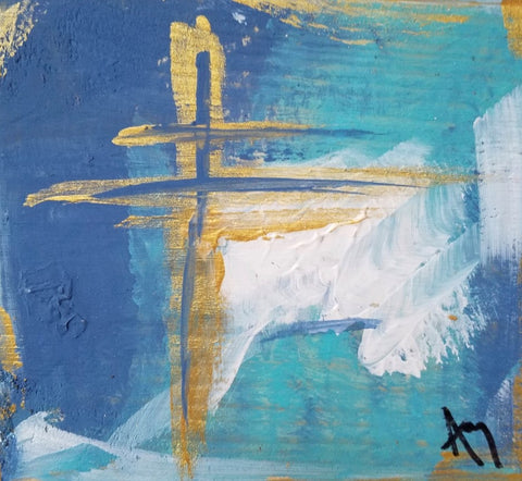 Cross III painting Amy Christenberry - Christenberry Collection