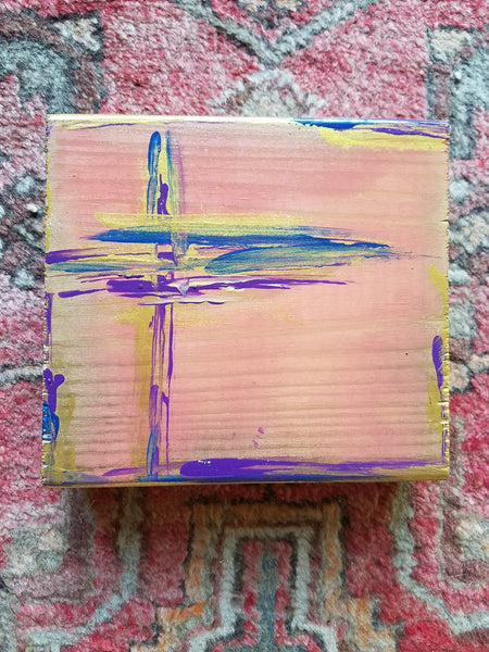Crosses painting Amy Christenberry - Christenberry Collection