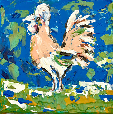 Abstract Rooster I