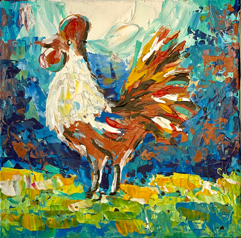 Abstract Rooster VIII