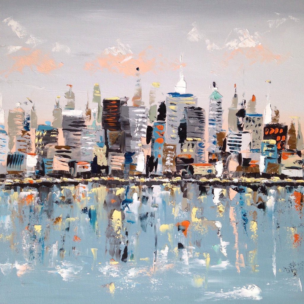 New York New York painting Emma Bell - Christenberry Collection