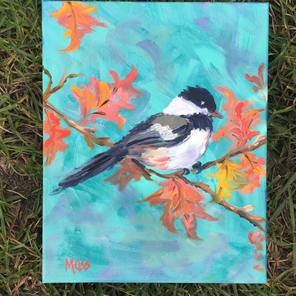 Fall is in the Air painting Jenny Moss - Christenberry Collection