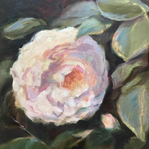 Spring Camillia painting Cynthia Huston - Christenberry Collection