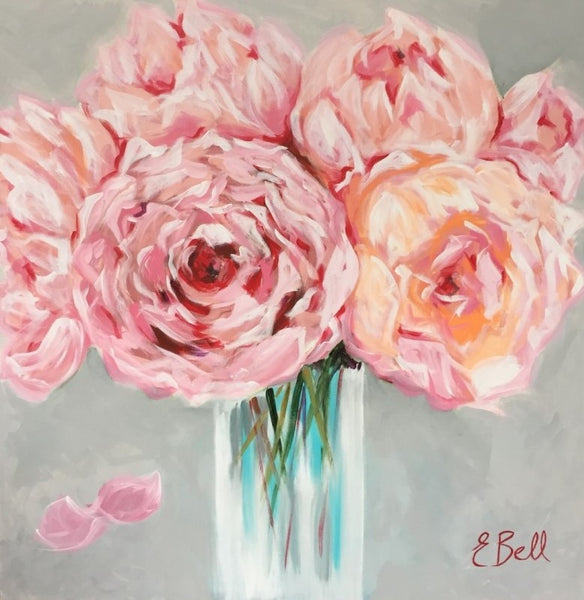 Vase of Peonies | Christenberry Collection