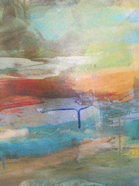 Mist 3 painting Amy Dixon - Christenberry Collection