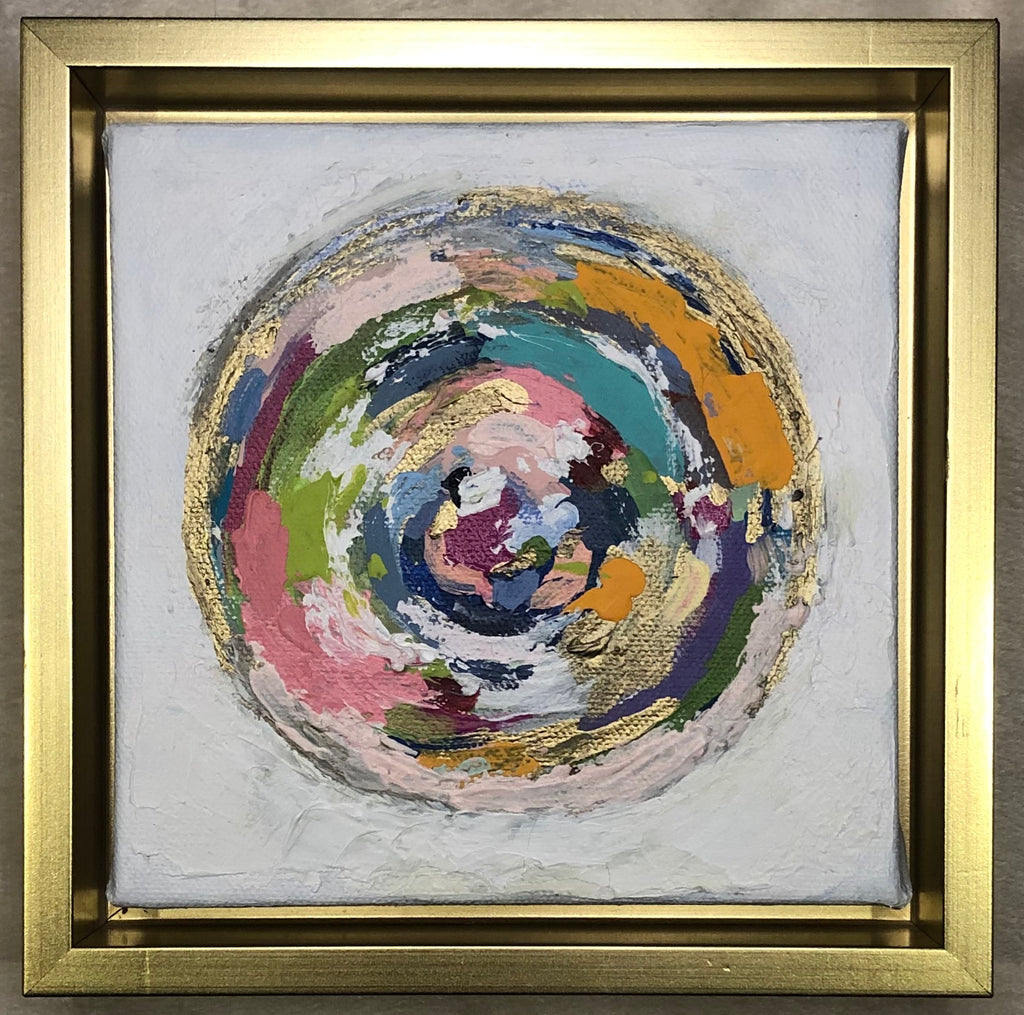 Circle Abstract painting Lynnette Driver - Christenberry Collection