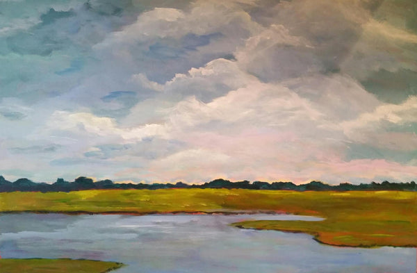 Peaceful Easy Feeling painting Jenny Moss - Christenberry Collection
