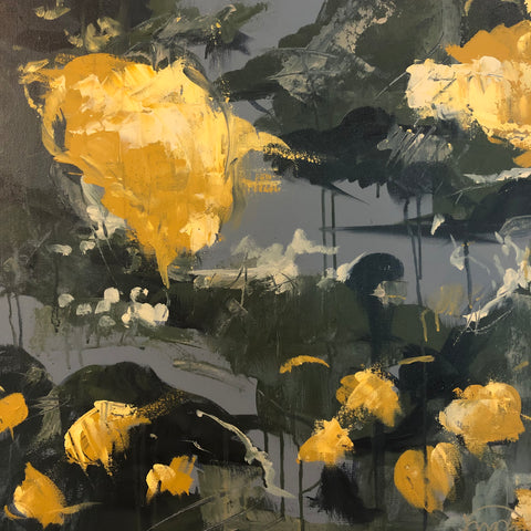 The Lemon Tree II painting Powers Tanis - Christenberry Collection
