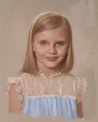 Commission Portraits painting Leeanne Lovice - Christenberry Collection