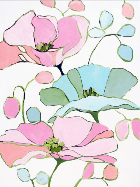 Christenberry Collection | Kristin Cooney | Floral Art | Pink Flowers