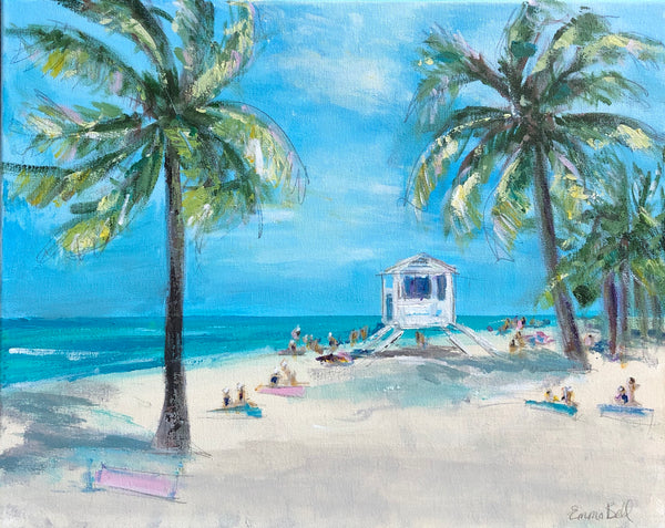 Heaven on Hilton Head Island painting Emma Bell - Christenberry Collection