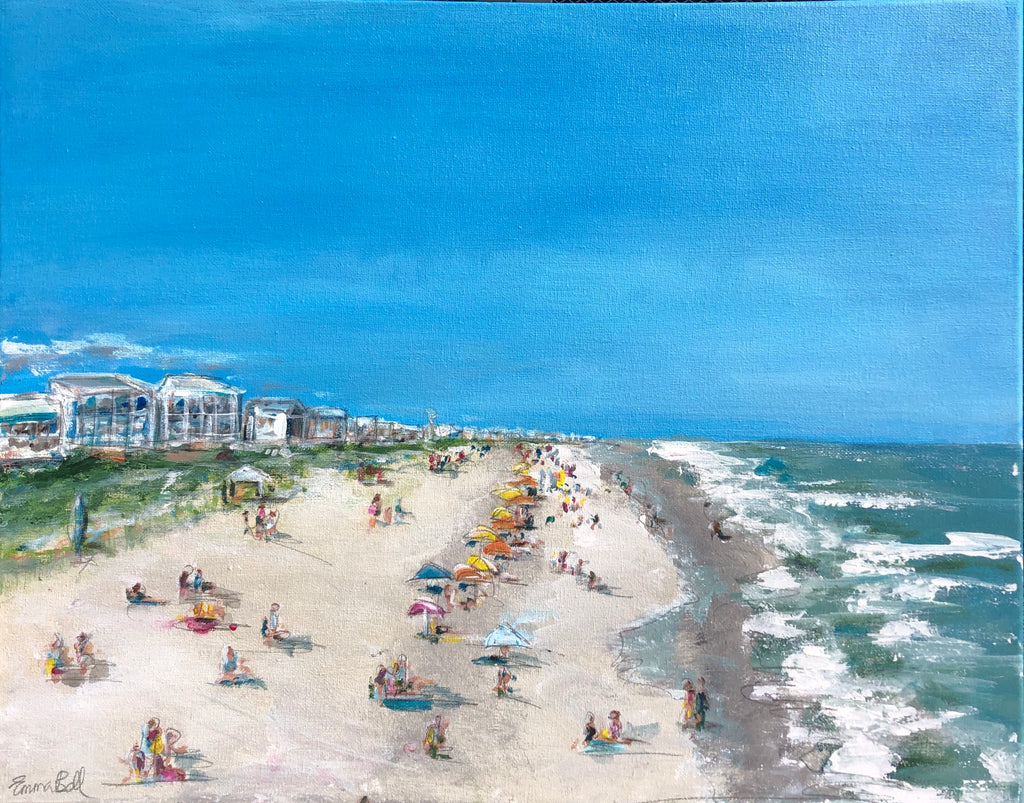 Pawleys Island painting Emma Bell - Christenberry Collection