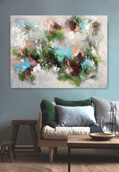Rose Garden Abstract | Christenberry Collection