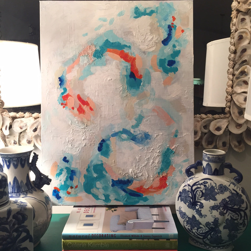 Koi painting Ashley Williams - Christenberry Collection