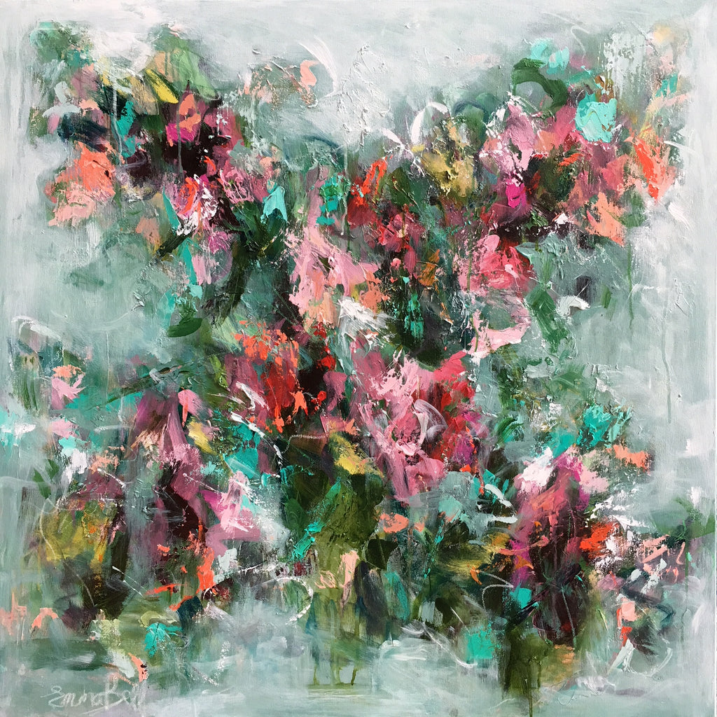 Spring in Bloom Giclee painting Emma Bell - Christenberry Collection
