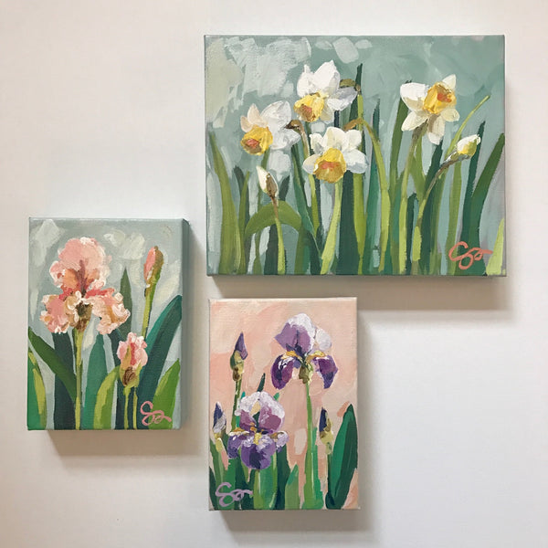 Daffodils painting Shields Catone - Christenberry Collection