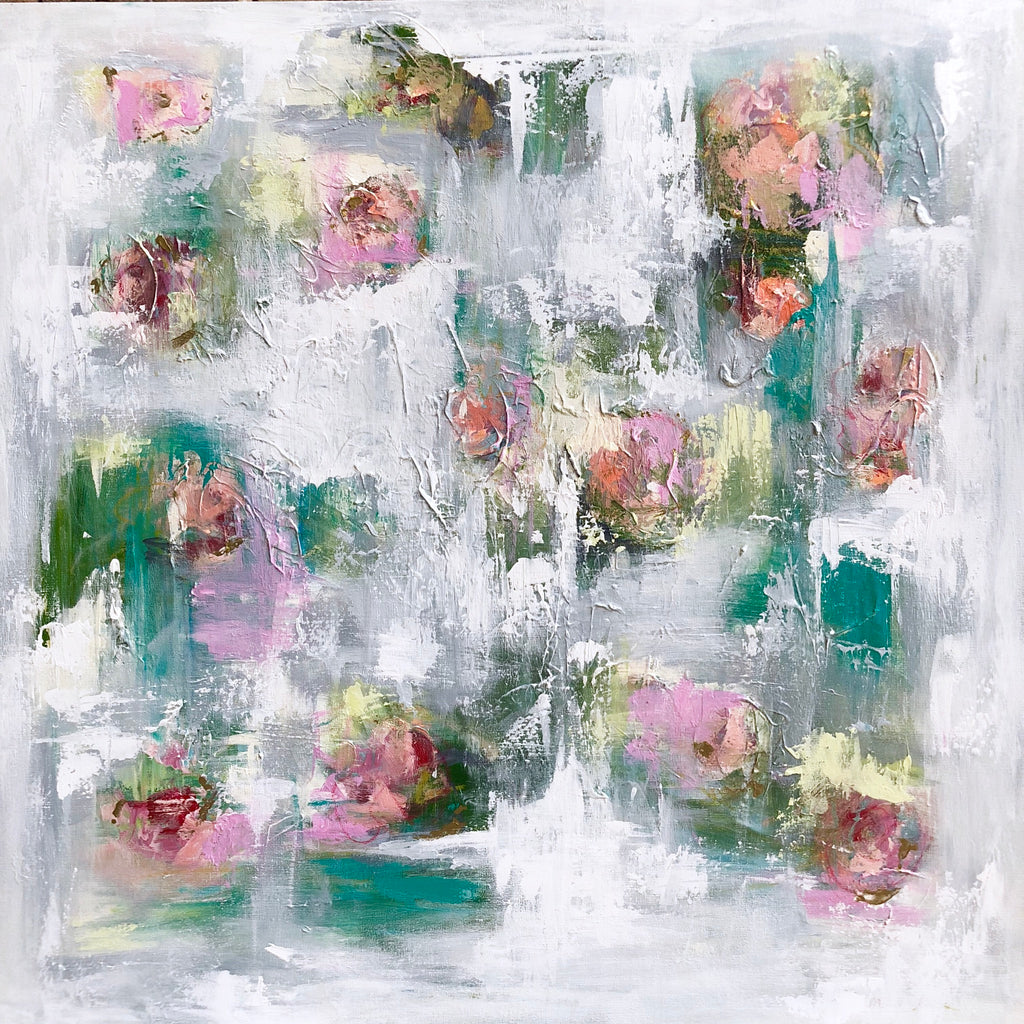 Emerging Blossom painting Emma Bell - Christenberry Collection