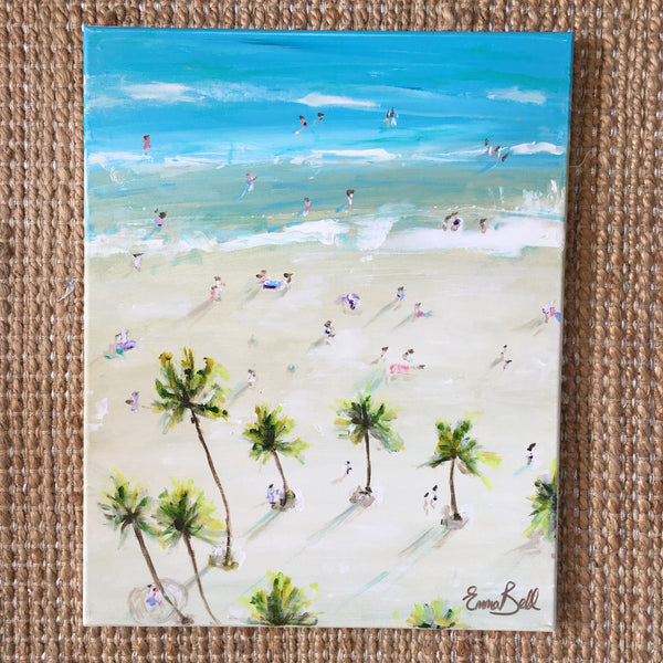 Palm Beach painting Emma Bell - Christenberry Collection