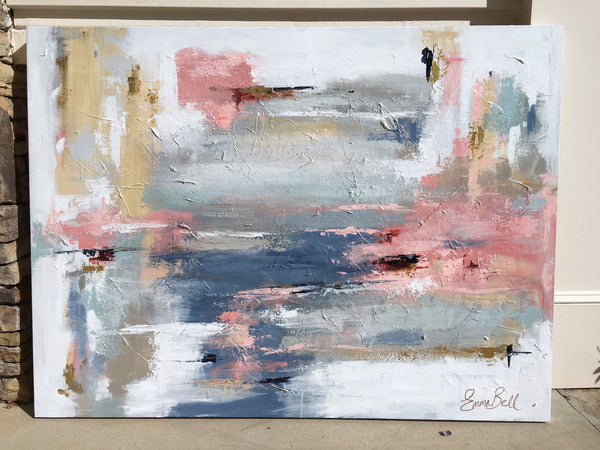 Drifting painting Emma Bell - Christenberry Collection