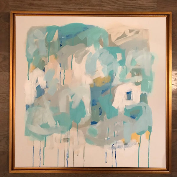 Winter Hues III painting Ashley Williams - Christenberry Collection