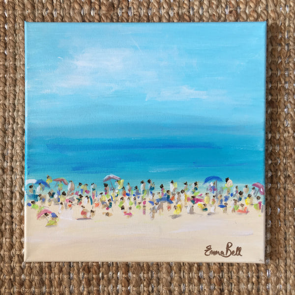 Beachlife painting Emma Bell - Christenberry Collection